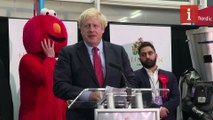 Boris Johnson claims election result is mandate 'to get Brexit done'