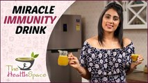BOOST IMMUNITY NATURALLY - How To Make Natural Immunity Drink?   The Health Space