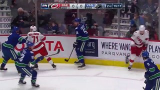 Jacob Markstrom blanks Hurricanes with 43-save shutout