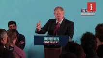 Boris Johnson gives victory speech in London with pledge to voters who aren't 'natural Tories'