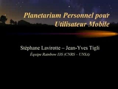 Planetarium pour Utilisateur Mobile: Stellarium