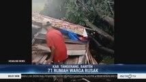 Puluhan Rumah Warga di Tangerang Rusak Akibat Angin Kencang