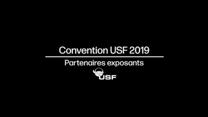 "Convention USF 2019 - Micro trottoir ""Partenaires Exposants"""