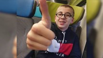 Malmerspach : Tom a rencontré l'équipe de France de foot