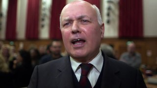 Former Tory leader Iain Duncan Smith speaks on PM's future