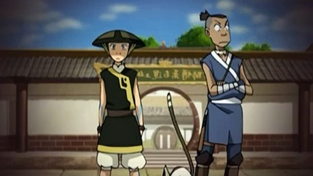 Avatar The Last Airbender S02E06 The Blind Bandit