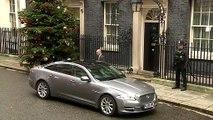 Boris Johnson travels to Buckingham Palace