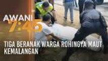 Tiga beranak warga Rohingya maut