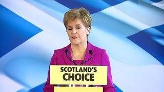 Nicola Sturgeon sets out SNP's post-election plans