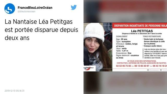 Nantes. Depuis deux ans, le mystère entoure la disparition de Léa Petitgas