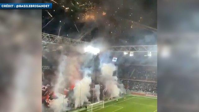 L'incroyable ambiance lors du derby de Gênes