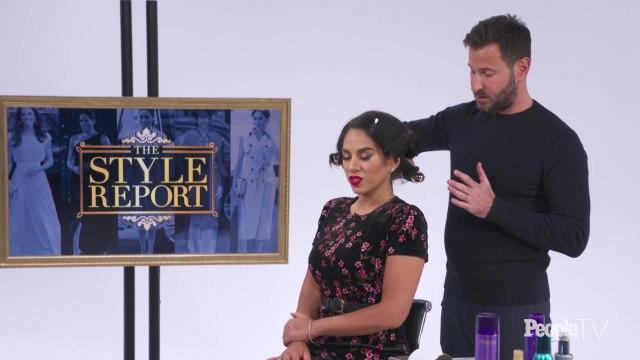 Celebrity Hair Stylist Chris Naselli Recreates Meghan Markle's Big, Bouncy Waves