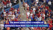 MLB Teams to Add More Safety Netting at Stadiums
