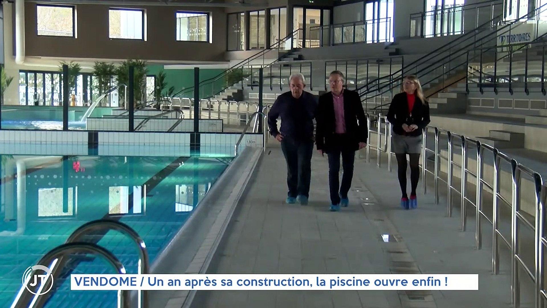 Construction De La Piscine De Vendome vendome un an après sa construction, la piscine ouvre enfin!