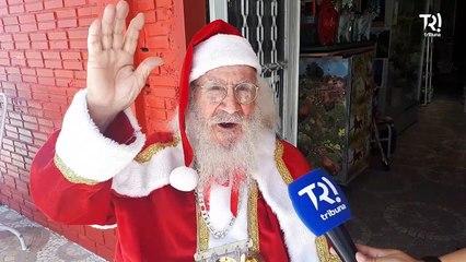 Conheça Gino, o Papai Noel mais antigo do Brasil