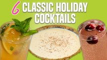 How to Make 6 Classic Holiday Cocktails