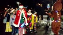 Ghlin. Parade de Noël au centre provincial d'enseignement spécialisé. Vidéo Eric Ghislain