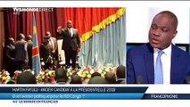 Martin Fayulu réagit au discours du président Tshisekedi.