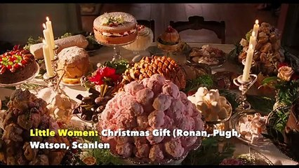 Little Women Christmas Gift (Ronan, Pugh, Watson, Scanlen)