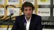 Alain Thinet après la victoire de Saint-Chamond à Fos Provence Basket