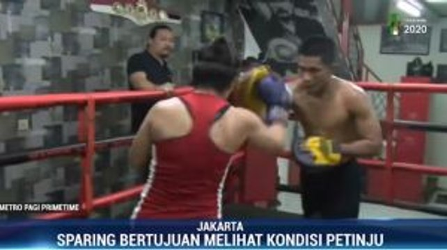 Persiapan Tiga Petinju Hadapi Indonesia Big Fight 14