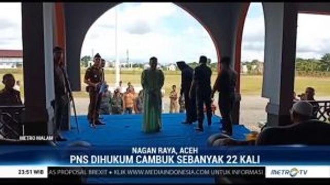 Dua PNS di Aceh Dicambuk Karena Berjudi