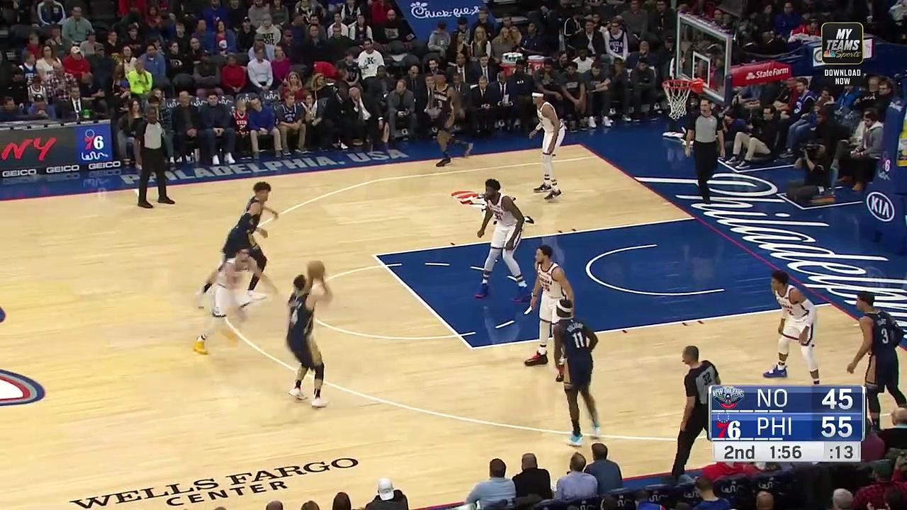 New Orleans Pelicans 109 - 116 Philadelphia 76ers