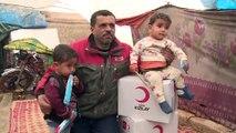 Türk Kızılaydan ihtiyaç sahibi Suriyeliler için ısıtıcı ve kömür yardımı çağrısı - KİLİS