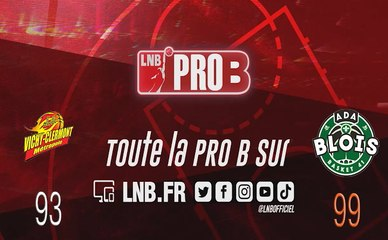 PRO B : Vichy-Clermont vs Blois (J10)