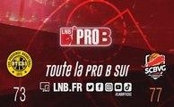 PRO B : Fos-sur-Mer vs Saint-Chamond (J10)