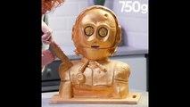 Le plus surprenant des gâteaux C3PO (Star Wars) - 750g