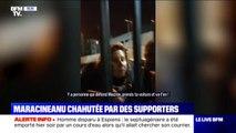 """""""Casse-toi !"""" La ministre des Sports Roxana Maracineanu prise à partie et exfiltrée d'un stade sous les insultes"""