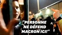 """""""Casse-toi Roxana!"""" Les images de la ministre des sports  expulsée par des supporters du Red Star"""