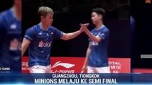 The Minions dan Anthony Ginting Melaju ke Semifinal BWF World Tour Finals 2019