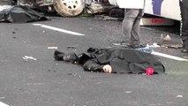 Kırşehir'de otobüs ile otomobil çarpıştı 3 ölü, 1 yaralı-2