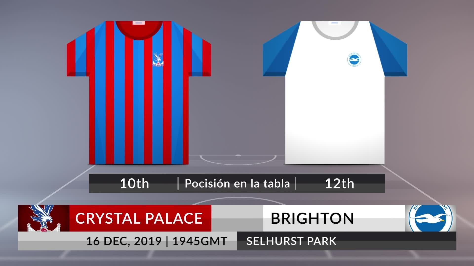 Match Preview Crystal Palace Vs Brighton On 16122019