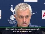 17e j. - Mourinho : ''Nuno est meilleur coach qu'il était joueur''