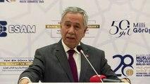 28. Uluslararası Müslüman Topluluklar Birliği Kongresi - Bülent Arınç (2)