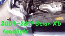 2009-2011 scion xb headlight bulb replacement
