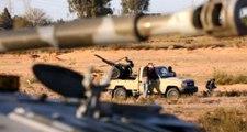 Libya'da UMH'ye bağlı birlikler, Hafter güçlerine bomba yağdırdı