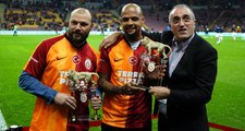 Galatasaray'dan Felipe Melo ve Tomas Ujfalusi'ye plaket