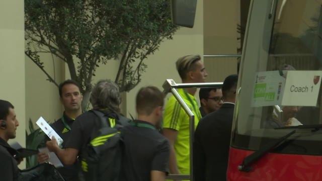 CdM Clubs - Les joueurs de Flamengo sont arrivés au Qatar