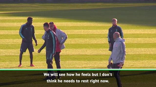 Sarri doesn't think Ronaldo needs to rest