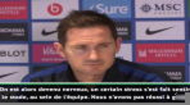 "17e j. - Lampard : ""On est devenu nerveux"""