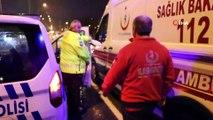 Kaza sonrası toplanan kalabalığa otomobil çarptı: 6 yaralı