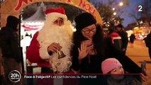 Paris : Le Père Noël part à la rencontre des enfants