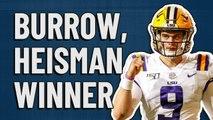 Joe Burrow is your 2019 Heisman winner!