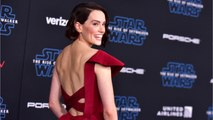 Daisy Ridley Rocks Custom Gown To 'Star Wars' Premiere
