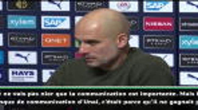 """17e j. - Guardiola : """"L'anglais d'Emery a été un problème uniquement parce qu'il n'a pas gagné"""""""