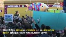 Une déferlante de Sardines à Rome contre Salvini